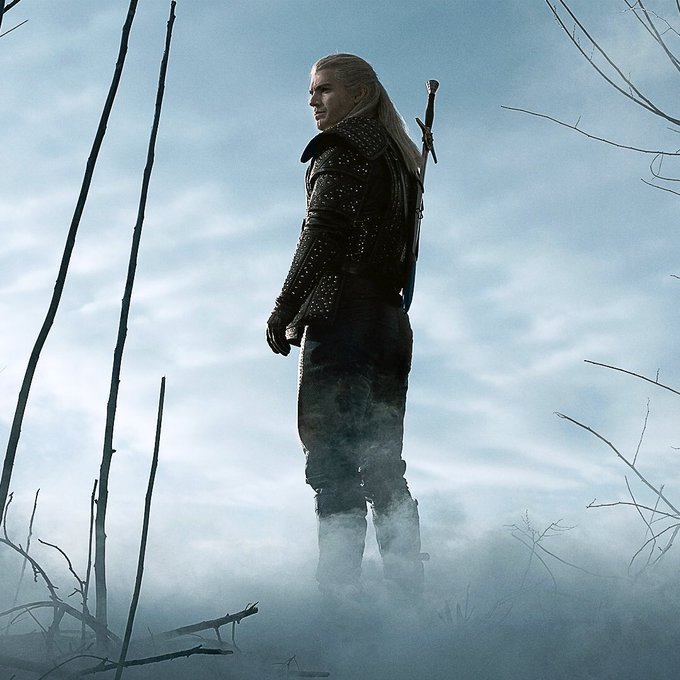 Henry Cavil as Geralt in The Witcher Netflix Adaptation