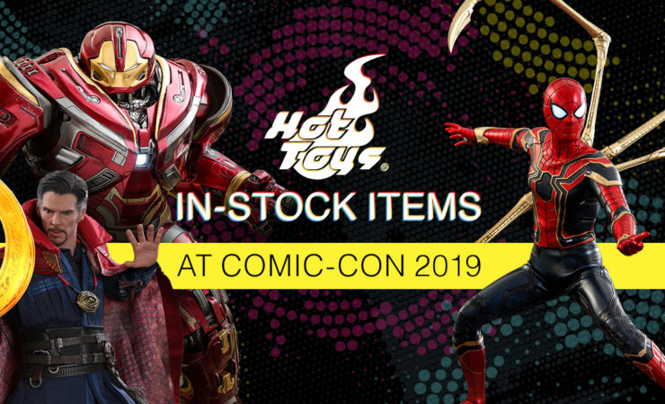 Hot Toys In-Stock Items at San Diego Comic-Con 2019!