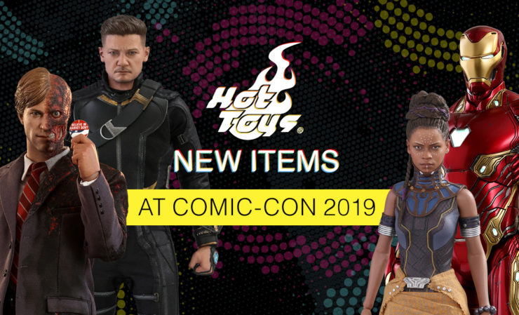 New Hot Toys Figures from San Diego Comic-Con 2019!