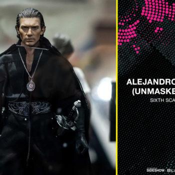 Alejandro Murrieta (Unmaksed Zorro) Sixth Scale Figure