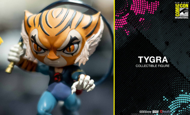 Tygra Vinyl Collectible from Iron Studios San Diego Comic-Con Exclusive Preview