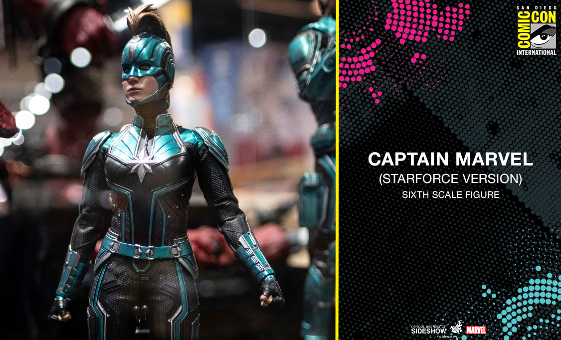 2 - Top 3 female characters from Video Games that should be made SDCC_Preview_904931_CapMarvelStarforce