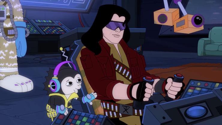 Tommy Wiseau stars in SpaceWorld sci-fi pilot.