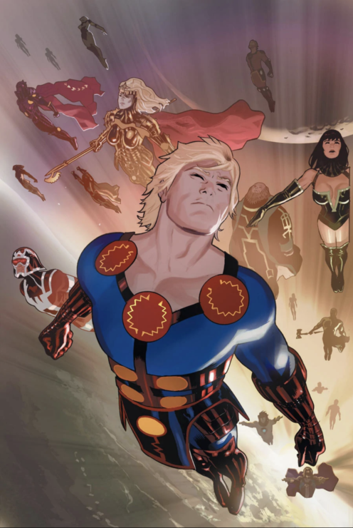 The Eternals Comic Book Cover