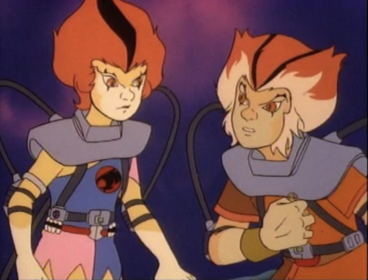 WilyKit and WilyKat from ThunderCats
