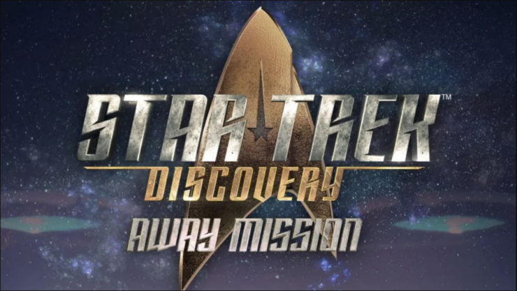 Star Trek: Discover Away Mission Poster Placard