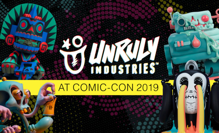 Unruly Industries premiere at San Diego Comic Con 2019!