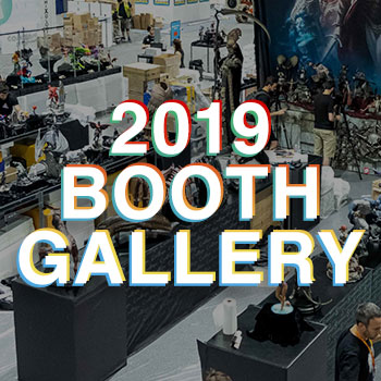 Immerse Yourself in Sideshow's  Official Comic-Con 2019 Booth Gallery!