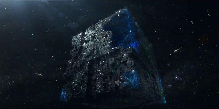 A Borg Cube