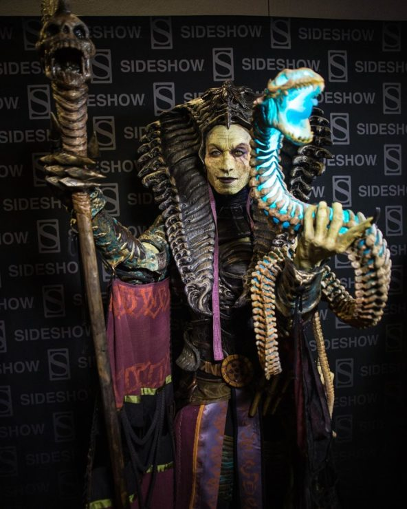 Court of the Dead and Cinema Makeup School's Cleopsis Cosplay at Comic-Con 2019!