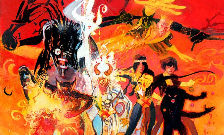 Meet the Next Era of X-Men in the New Mutants Fine Art Lithograph by Bill Sienkiewicz