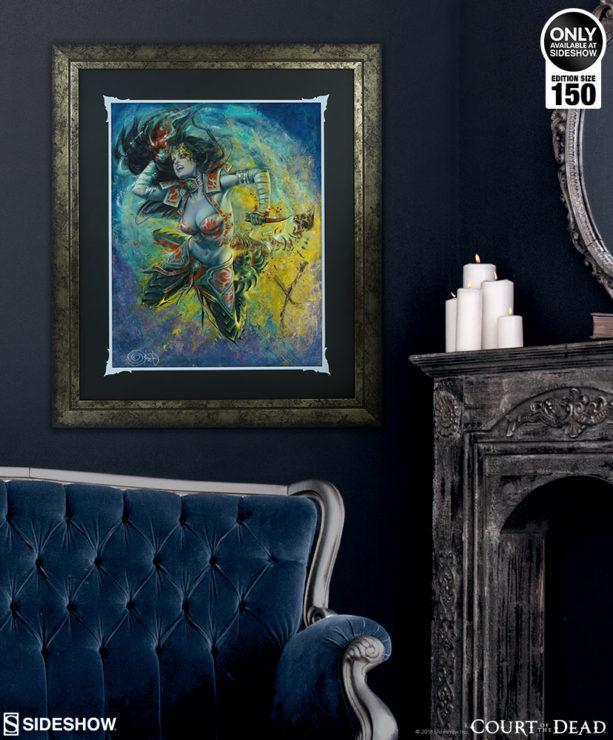 gallevarbe eviscerator art print