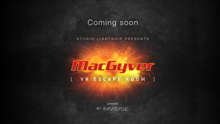MacGyver themed escape room preview page from Imverse VR tech