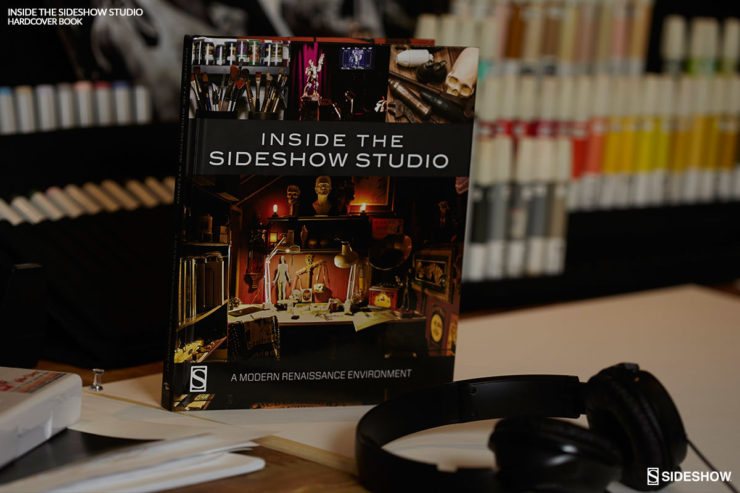 inside the sideshow studio book