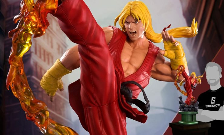 Ken Masters PCS Collectibles Street Fighter Statue