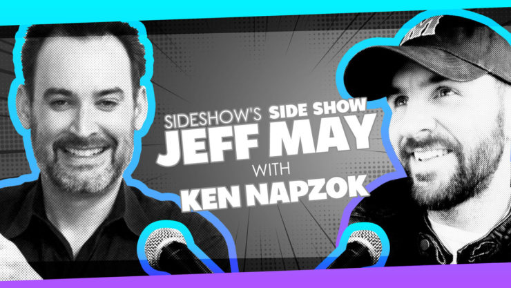 Author Ken Napzok (Why We Love Star Wars) Joins Jeff May in New Episode of Sideshow's Side Show Podcast!