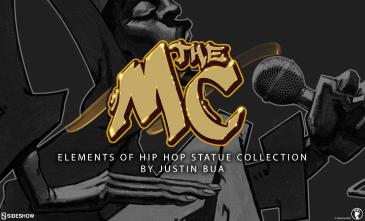Sideshow Partners with Legendary Hip Hop Visual Artist BUA to Produce Statues, Prints