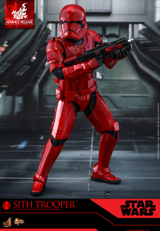 Sith Trooper Sixth Scale Figure by Hot Toys