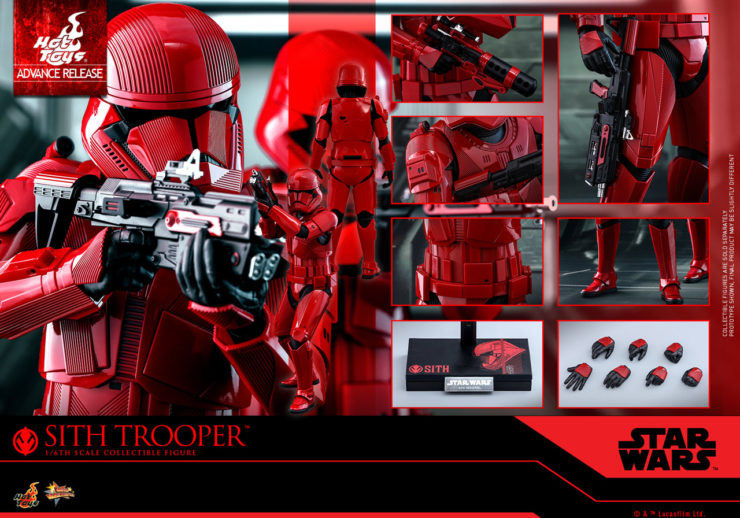 Sideshow Booth #1929 is Your Stop for the Hot Toys Sith Trooper at Comic-Con 2019