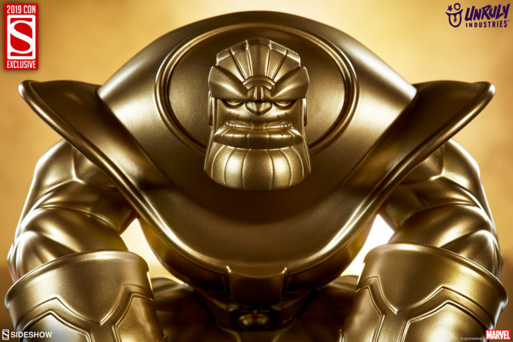 FIRST LOOK at the San Diego Comic-Con Exclusive The Mad Titan Gold Edition Designer Toy!