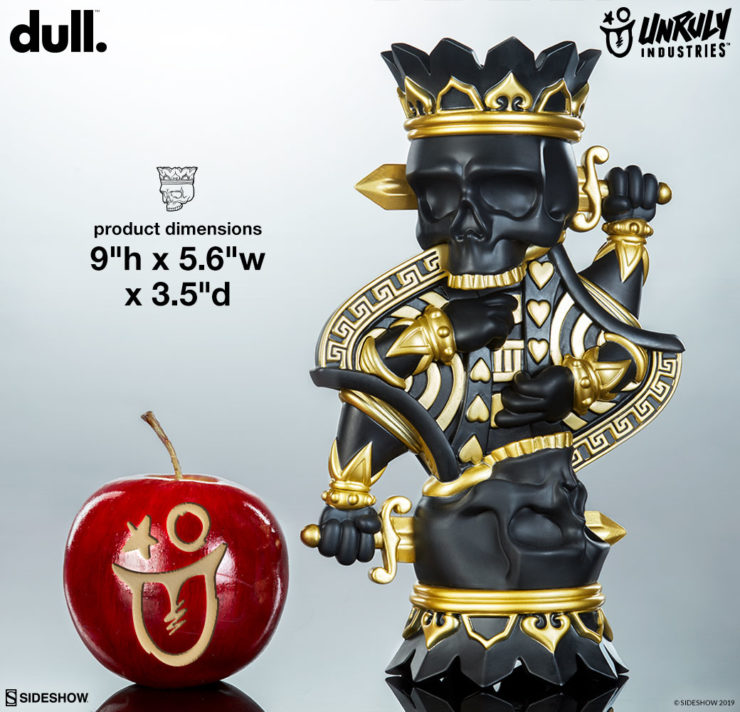 King Charles designer toy by artist dull. Unruly Industries