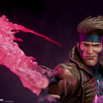 Gambit Maquette Exclusive Smirking Portrait