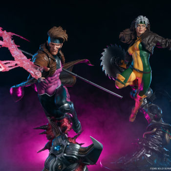 Gambit Maquette and Rogue Maquette Exclusive Editions- Figures Sold Separately