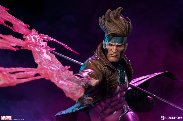Charge Up Your X-Men Collection with the Gambit Maquette, Mon Ami
