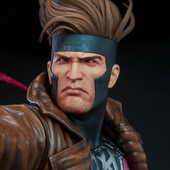 Gambit Maquette Portrait Close Up