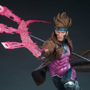 Gambit Maquette Upper Body View, No Base Visible