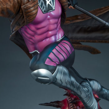 Gambit Maquette Torso and Legs View