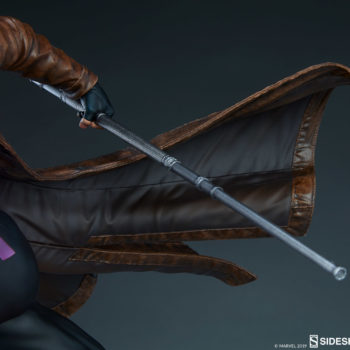 Gambit Maquette Bo Staff and Sculpted Trench Coat