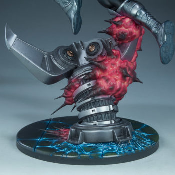 Gambit Maquette Danger Room Claw Base