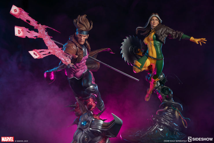 Gambit Maquette and Rogue Maquette Collectors Editions- Sold Separately