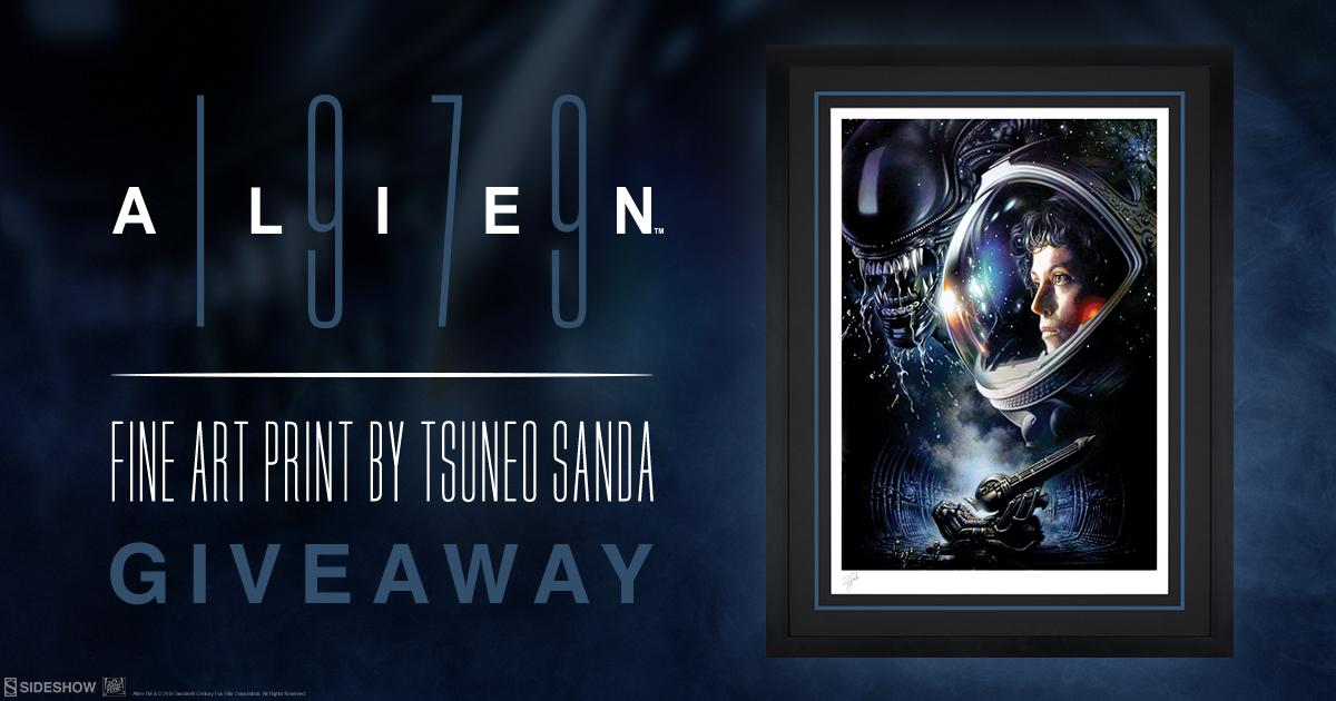 Alien 1979 Fine Art Print Giveaway