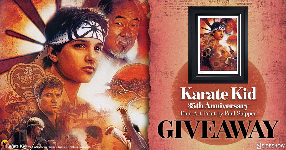 Karate Kid 35th Anniversary Print Giveaway
