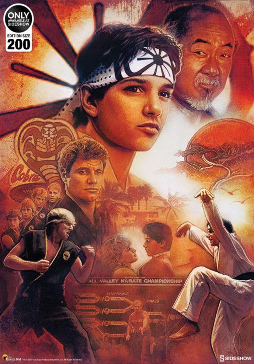 Karate Kid 35th Anniversary Fine Art Print by Paul Shipper