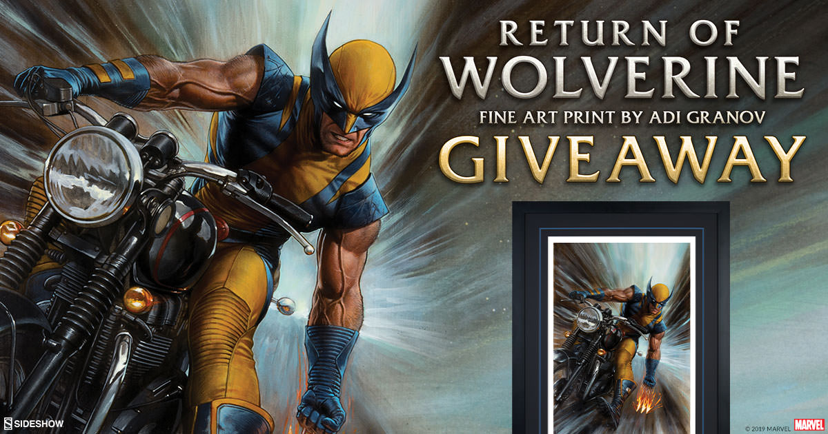 Return of Wolverine Fine Art Print Giveaway