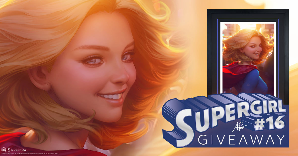 Supergirl #16 Fine Art Print Giveaway