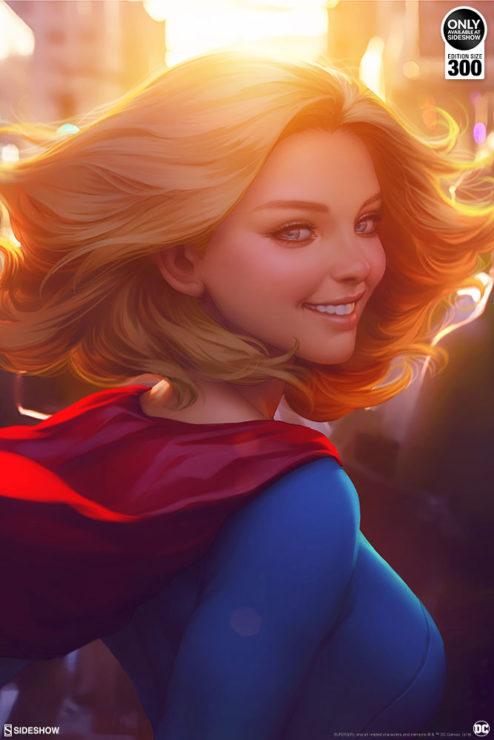 Supergirl #16 Fine Art Print by Stanley 'Artgerm' Lau