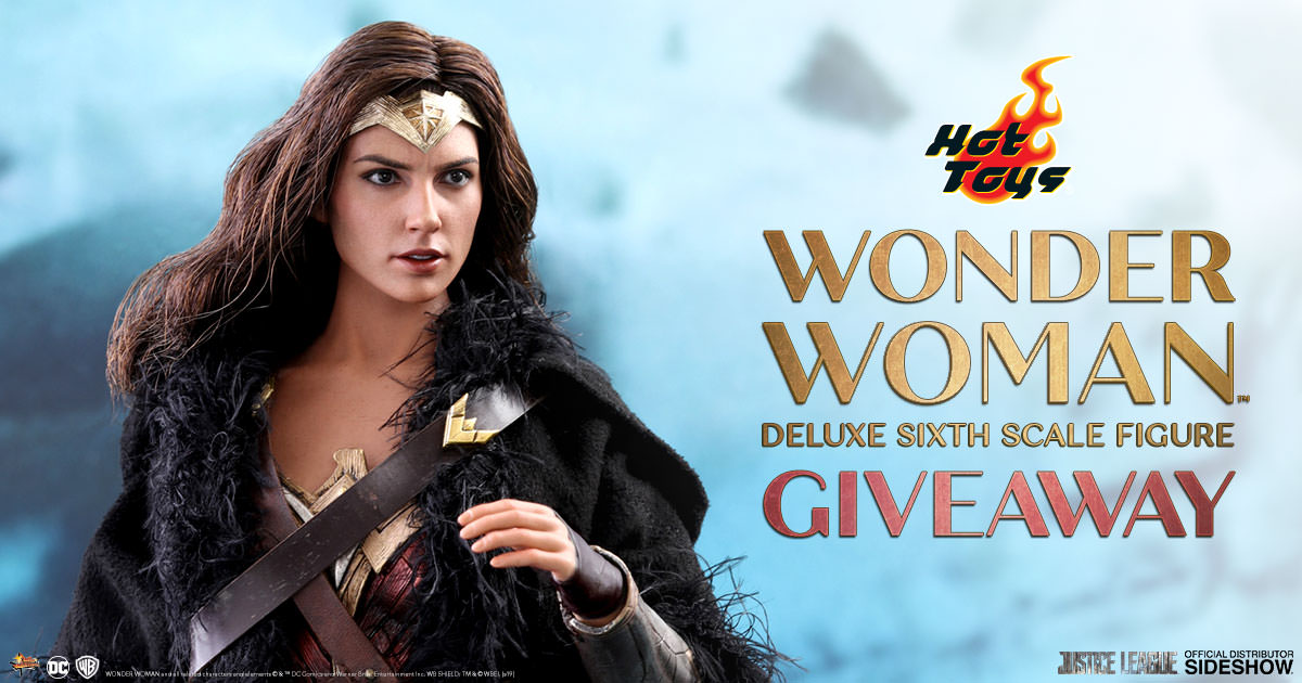 Wonder Woman Deluxe Sixth Scale Figure Newsletter Giveaway