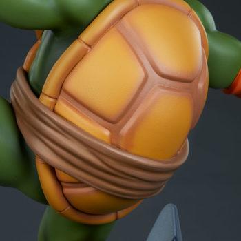 Michelangelo 1:4 Scale Statue Back Shell