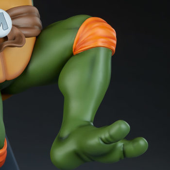 Michelangelo 1:4 Scale Statue Jumping Foot