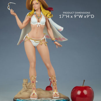 "Street Fighter Karin: Season Pass 1:4 Scale Statue Measurements- 17"" H x 9"" W x 9"" D"