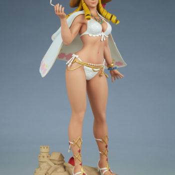 Street Fighter Karin: Season Pass 1:4 Scale Statue Open Lit Turnaround 5