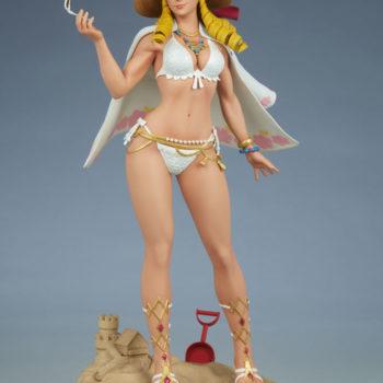 Street Fighter Karin: Season Pass 1:4 Scale Statue Open Lit Turnaround 6