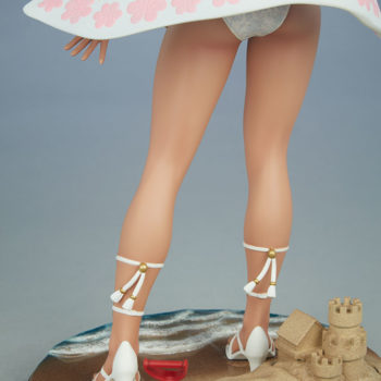Street Fighter Karin: Season Pass 1:4 Scale Statue Legs and Base Focus Back View