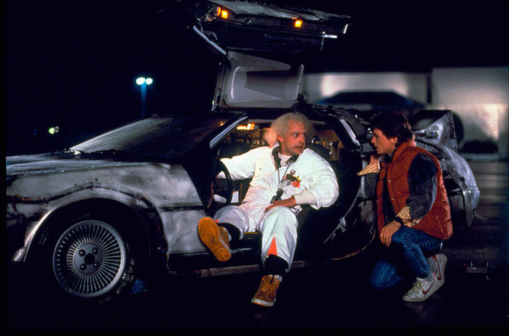 Top 10 Fictional Vehicles– Geek Culture Countdown Podcast!- DeLorean Time Machine