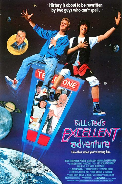 Bill & Ted's Excellent Adventure- Time Travel Movies for Every Mood