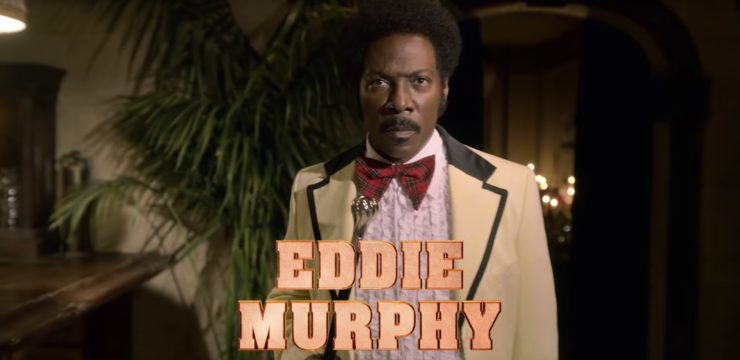 Dolemite Is My Name Trailer showing Eddie Murphy as Rudy Ray Moore